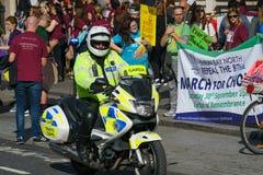 März für Wahl durch die Abtreibung berichtigt Kampagne BOGEN Stockfotos