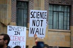 März für Wissenschaft Stockfotografie