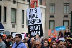 März für Wissenschaft Lizenzfreies Stockbild