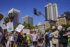 März für Wissenschaft LA Stockfotos