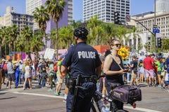 März für Wissenschaft LA Lizenzfreie Stockfotografie