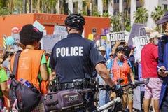 März für Wissenschaft LA Stockfotografie