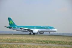 März, 24. 2015, Flughafen EI-DEP Aer Lingus Amsterdams Schiphol Lizenzfreies Stockfoto