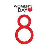 8. März internationaler Tag der Frauen-s Lizenzfreie Stockfotografie