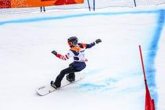 2018 am 16. März Spiele 2018 Peyongchang Paralympic in Süd-Kore Lizenzfreie Stockfotos