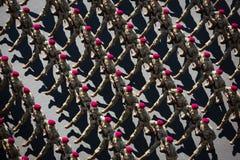 März von Unabhängigkeit in Kiew Lizenzfreie Stockfotografie