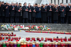 März von Würde in Kyiv Lizenzfreie Stockfotografie