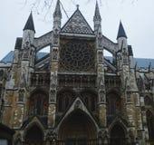 März 2018 Westminter-Abtei, London, Großbritannien Quadratisches Bild Lizenzfreies Stockfoto
