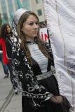 März, zum des Circassian Genozids zu protestieren Stockfotos