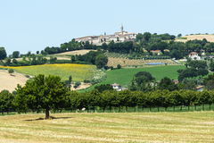 Märze (Italien): Sommerlandschaft Stockbilder