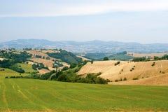Märze (Italien) - verschönern Sie am Sommer landschaftlich Lizenzfreie Stockfotografie
