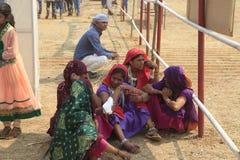 MÄSSA för KAVANT GER nära Chhota Udepur runt om 120 kms från BARODA royaltyfri fotografi