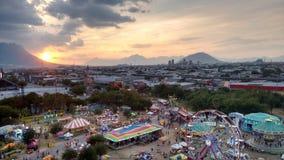 Mässa i Monterrey N L mexico arkivbilder
