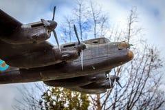 Mässingsbombplan Fotografering för Bildbyråer