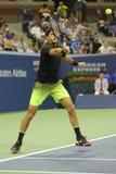 Mästare Juan Martin Del Porto för storslagen Slam av Argentina i handling under hans match för runda 2 för US Open 2016 Royaltyfria Foton