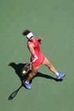 Mästare Samantha Stosur för storslagen Slam av Australien i handling under hennes runda match fyra på US Open 2015 Royaltyfri Bild