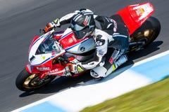 Mästerskap för Superbike för värld för 017 MOTUL-FIM Arkivfoto
