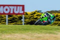 Mästerskap för Superbike för värld för 017 MOTUL-FIM Royaltyfri Bild