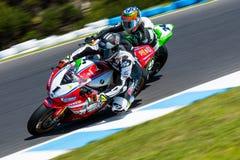 Mästerskap för Superbike för värld för 017 MOTUL-FIM Arkivbild