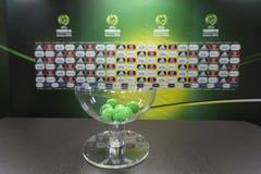 MÄSTERSKAP FÖR UEFA U19 royaltyfria bilder