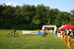 mästerskap som 2009 cirkulerar nationella singapore Arkivfoto