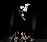 mästerskap som 2010 cheerleading finland Arkivbilder