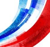 Mästerskapet 2016 för euroFrankrike fotboll med den Frankrike flaggan färgar vektor Royaltyfri Foto