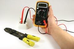 elektrisk digital tester Royaltyfria Bilder