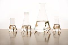 Mäta exponeringsglas Arkivfoto