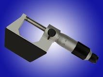 Mäta instrument—mikrometer Royaltyfri Bild
