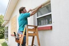 mätande fönster royaltyfri fotografi
