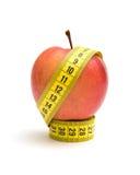 mätande pappersexercis för äpple Royaltyfri Bild