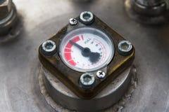 Mätning av gas Royaltyfria Foton