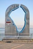 Mätning av havet av Galilee Fotografering för Bildbyråer