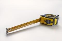 Mätningslinjal arkivbild