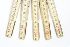 mätningsstick royaltyfri bild