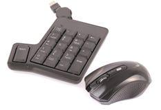 Mäuse- und Computertastatur Stockbild