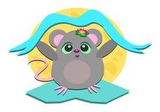 Mäusefahne Stockbild