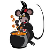 Mäusegrau Halloween vektor abbildung