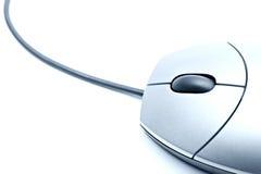 Mäusenahaufnahme getrennt lizenzfreies stockfoto