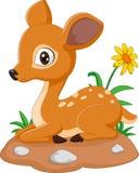 Mäuserotwild-Karikaturillustration stock abbildung