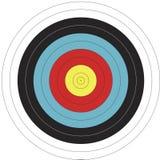 mål för fita för 122cm bågskyttedesign Arkivfoto