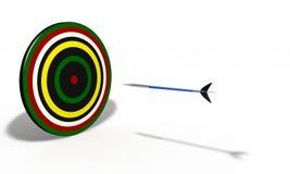 Mål för objekt för Sart modellbakgrund enkelt royaltyfri illustrationer