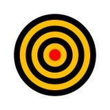 Mål (vektor) Fotografering för Bildbyråer
