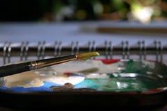 måla Royaltyfria Foton