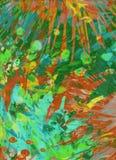 Måla färgstänkbakgrund Arkivfoto