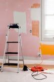 måla förberedelsen Royaltyfri Fotografi