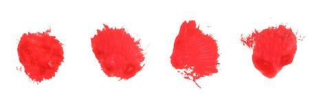 måla fläck Arkivfoto