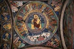 Måla från en kyrka Royaltyfri Fotografi