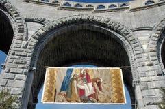 måla klosterbrodern Royaltyfri Bild
